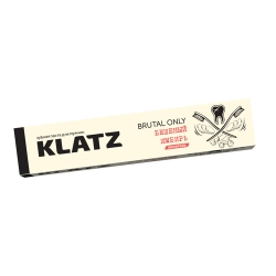 Фото Зубная паста Klatz BRUTAL ONLY - Для мужчин Бешеный имбирь без фтора, 75мл