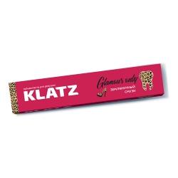 Фото Зубная паста Klatz GLAMOUR ONLY - Для девушек Земляничный смузи без фтора, 75мл