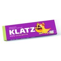 Зубная паста Klatz KIDS - Тутти-фрутти, 48 мл