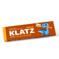 Зубная паста Klatz KIDS  - Утренняя карамель без фтора, 48 мл