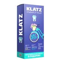 Купить Набор Зубная паста Klatz LIFESTYLE - Свежее дыхание, 75 мл + Комплексный уход, 75мл + Зубная щетка LIFESTYLE средняя