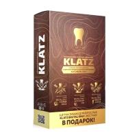 Купить Набор Зубная паста Klatz BRUTAL ONLY - Терпкий коньяк, 75мл + Убойный виски, 75мл + Бунтарский ром, 75мл + зубная щетка для взрослых, жесткая