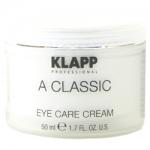 Фото Klapp A Classic Eye Care Cream - Крем-уход для кожи вокруг глаз, 50 мл