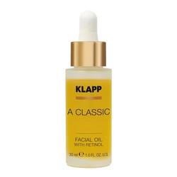 Фото Klapp A Classic Facial Oil - Масло-концентрат витамин А ретинол, 30 мл.