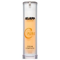 Фото Klapp C Pure Cream Complete - Витаминный крем, 45 мл