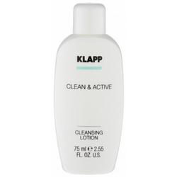 Фото Klapp Clean And Active Cleansing Lotion - Молочко очищающее, 75 мл