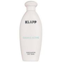 Купить Klapp Clean&Active Exfoliator Dry Skin - Эксфолиатор для сухой кожи, 250 мл