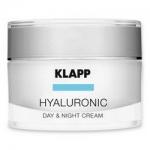 Фото Klapp Hyaluronic Daу&Night Cream - Крем Гиалуроник, День-Ночь, 50 мл