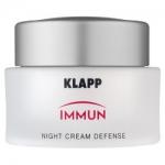 Фото Klapp Immun Night Cream Defense - Ночной крем, 100 мл