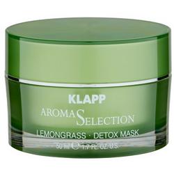 Фото Klapp Lemongrass Detox Mask - Маска-детокс Лемонграсс, 50 мл