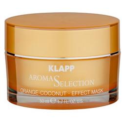 Фото Klapp Orange-Coconut Effect Mask - Эффект-маска апельсин-кокос, 50 мл