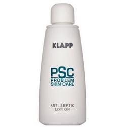 Фото Klapp PSC Problem Skin Care Anti Septic Lotion - Лосьон с цинком Болтушка, 125 мл