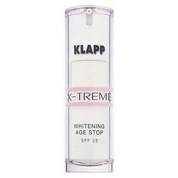 Фото Klapp X-Treme Whitening Age Stop Spf 25 - Отбеливающий Эйдж-стоп-крем SPF 25, 30 мл