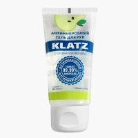 Klatz - Антимикробный гель для рук с ароматом яблока, 50 мл