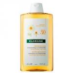 Фото Klorane Shampoo With Chamomile - Шампунь с экстрактом ромашки для светлых волос, 400 мл