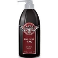 Купить Kondor Hair and Body Hair Soap Tar - Шампунь для мужчин с березовым дегтем, 750 мл