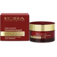 Купить KORA - Крем ночной регенерирующий GF 5 Клеточное обновление, 50 мл, КОРА