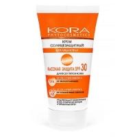 Купить KORA - Крем солнцезащитный SPF 30, для лица и тела, 150 мл, КОРА
