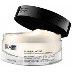 Фото Korff Superlative Antiwrinkle Day Cream Restructuring and Nourishing SPF15 - Дневной крем против морщин, 50 мл