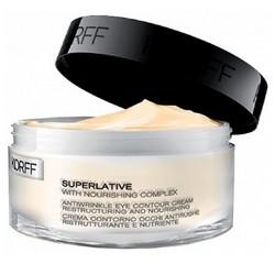 Фото Korff Superlative Eye Cream Antiwrinkle Restructuring and Nourishing - Крем против морщин для контура глаз, 15 мл