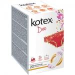 Фото Kotex Normal Deo - Прокладки ежедневные, 20 шт
