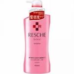 Kracie Resche Damage Care System Shampoo - Шампунь для поврежденных волос, 550 мл.