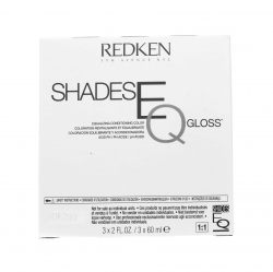 Фото Redken Shades eq Gloss - Краска-блеск без аммиака для тонирования и ухода за волосами, 07VB Violet Star, 3*60 мл
