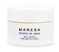 Maresa Source Of Aqua Day Cream - Увлажняющий дневной крем с гиалуроновой кислотой, 50 мл