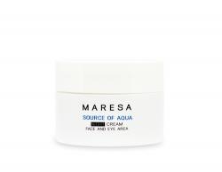 Фото Maresa Source Of Aqua Night Cream - Увлажняющий ночной крем с гиалуроновой кислотой, 50 мл