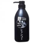 Фото Kurobara Kurozome - Шампунь-тонер, для придания естественного цвета седым волосам, черный, 500 мл
