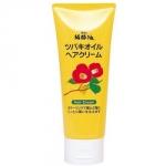 Kurobara Tsubaki Oil - Крем увлажняющий для восстановления поврежденных волос, с чистым маслом камелии, 150 г