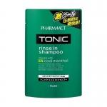 Фото Kumano cosmetics Tonic Rinse in Shampoo - Тонизирующий шампунь 2 в 1 для мужчин, сменный блок, 350 мл