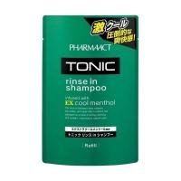 Купить Kumano cosmetics Tonic Rinse in Shampoo - Тонизирующий шампунь 2 в 1 для мужчин, сменный блок, 350 мл