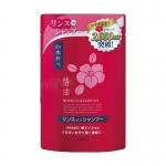 Фото Kumano cosmetics Shampoo - Шампунь для сухих волос Камелия, сменный блок, 400 мл