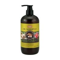 Купить Kumano cosmetics Infused With Horse Oil Shampoo - Шампунь для сухих волос с 3 видами масел: лошадиное, кокосовое и масло камелии, 480 мл