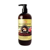 Купить Kumano cosmetics Infused With Horse Oil Conditioner - Кондиционер для сухих волос с 3 маслами: лошадиное, кокосовое и масло камелии, сменный блок, 400 мл
