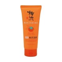 Kumano cosmetics Skin Care Facial Foam - Противовоспалительная пенка для умывания очищающая с экстрактом хурмы, 130 г