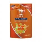 Фото Kumano cosmetics 2 in 1 Shampoo - Шампунь-кондиционер 2в1 против перхоти с экстрактами хурмы и лекарственных трав, сменный блок, 350 мл