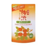 Купить Kumano cosmetics Body Soap - Жидкое мыло для тела антибактериальное хурма и гиалуроновая кислота, запасной блок, 350 мл