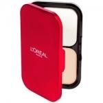 Фото L'Oreal Infaillible Premium - Ультрастойкая пудра для лица, тон 123, теплый ванильный, 10 г