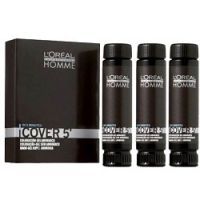 L'Oreal Professionnel Homme Cover - Тонирующий гель 5 №3, 3*50 мл фото