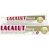 Купить Lacalut Flora - Зубная паста для надежной защиты от неприятного запаха изо рта, 75 мл