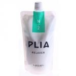 Lebel Plia Relaxer N2 - Жидкий крем химического выпрямления мягких, тонких волос шаг 2, 400 гр.