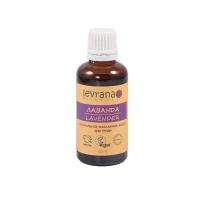 Levrana - Массажное масло для груди в период беременности и лактации Лаванда, 100 мл
