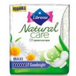 Фото Libresse Natural Care Maxi Super Goodnight - Прокладки гигиенические, 7 шт