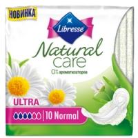 Libresse Natural Care Ultra Normal - Прокладки гигиенические, 10 шт