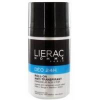 Lierac Non stop freshness antiperspirant roll on - Дезодорант 24 часа защиты для мужчин, 50 мл