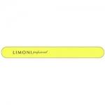 Фото Limoni Color - Пилка для ногтей желтая прямая, 320*320