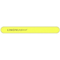 Limoni Color - Пилка для ногтей желтая прямая, 320*320 фото