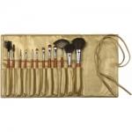 Фото Limoni Mahogany - Набор кистей, 12 предметов с чехлом